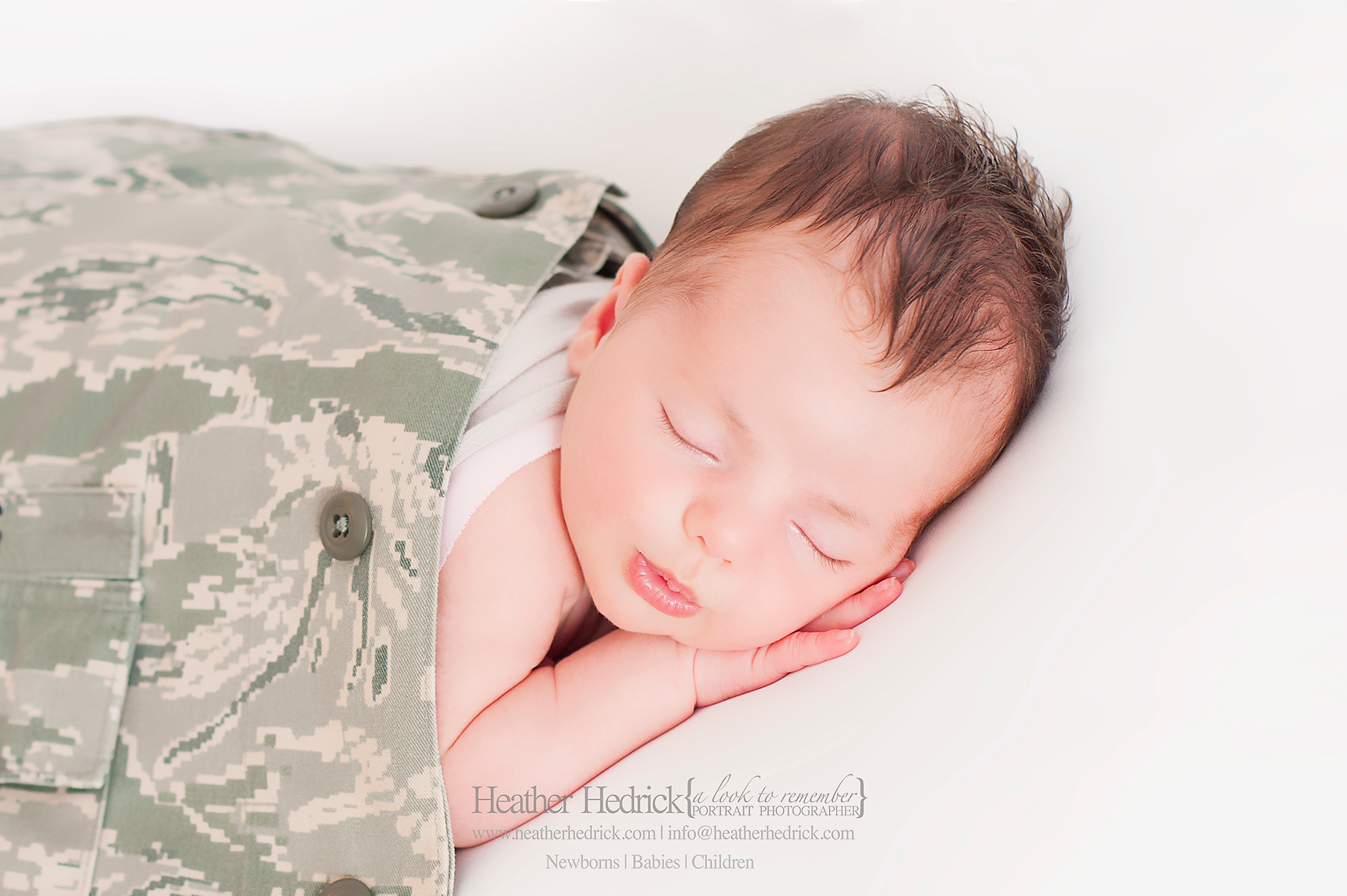 Military Baby Photographer